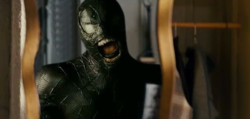 Fotograma susto en el trailer de Spiderman 3
